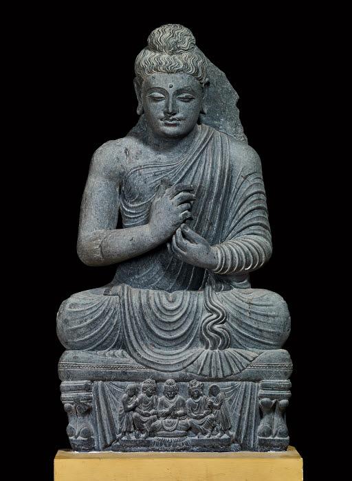 The Buddha Figure Kushan Gandhara Pakistan The British Museum Images