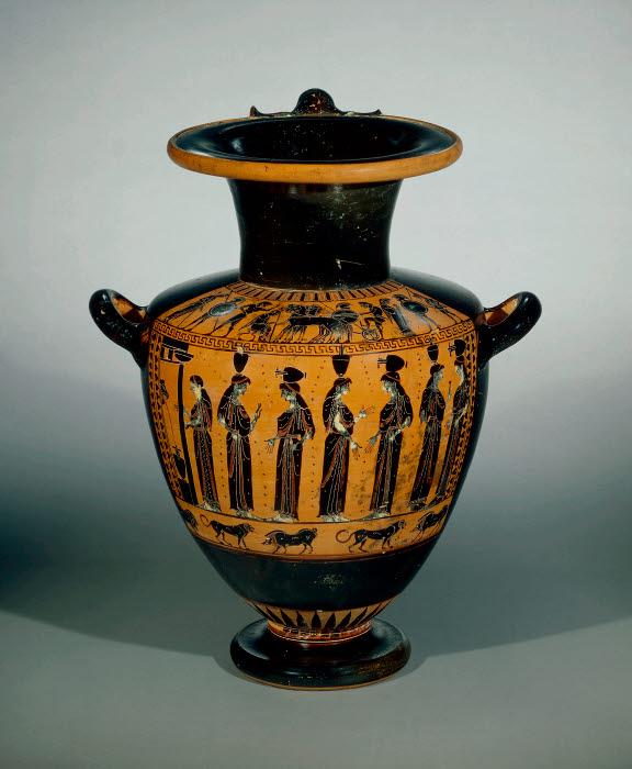 Hydria Attic Archaic Greek Attica Vulci The British Museum Images