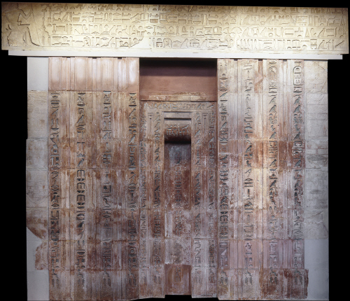 Limestone False Door Of Ptahshepses