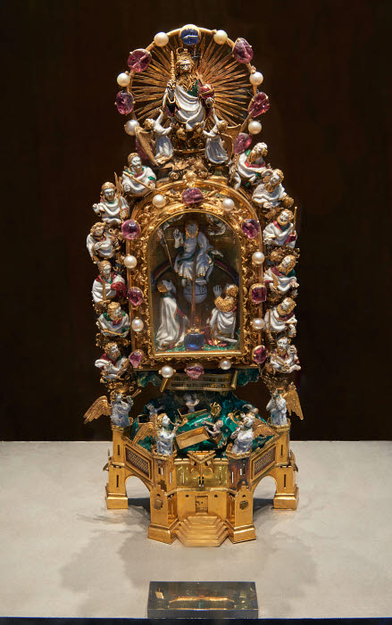 The Holy Thorn Reliquary Reliquary Relic Late Medieval